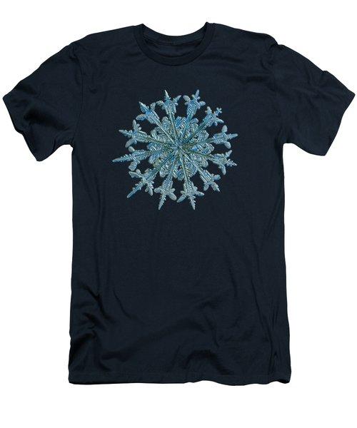 Snowflake Photo - Twelve Months Men's T-Shirt (Athletic Fit)