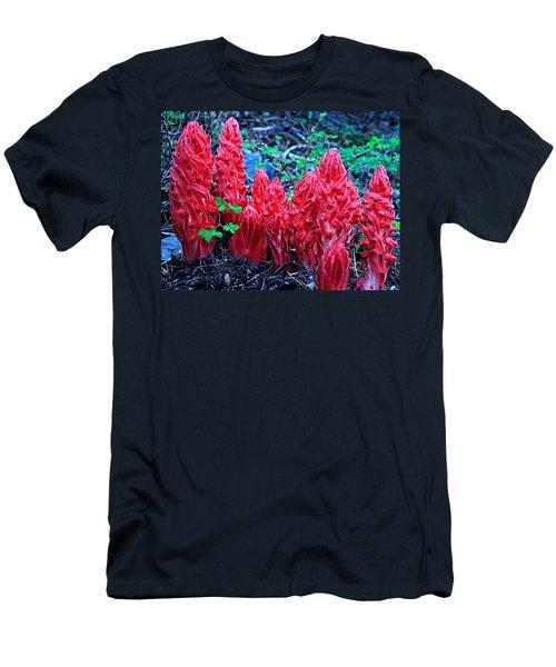 Snowflower Pow Wow Men's T-Shirt (Slim Fit) by Sean Sarsfield