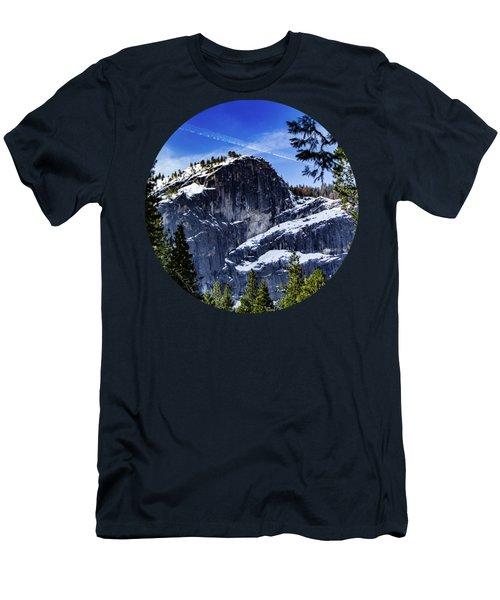 Snowy Sentinel Men's T-Shirt (Slim Fit) by Adam Morsa