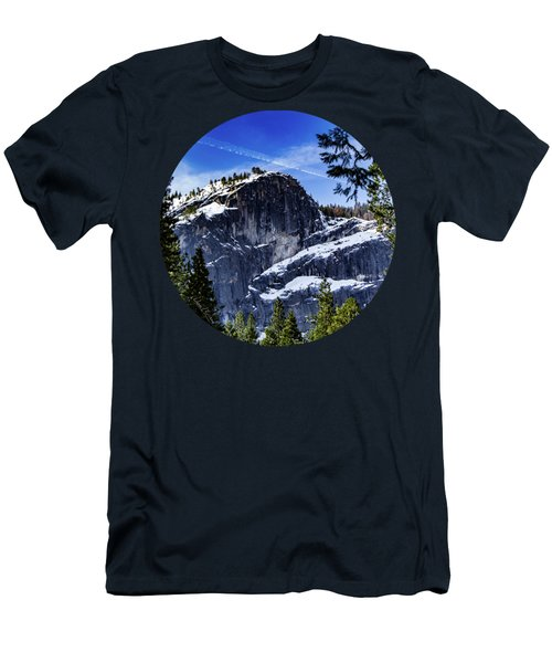 Snowy Sentinel Men's T-Shirt (Athletic Fit)