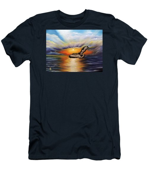 Soaring High Men's T-Shirt (Athletic Fit)