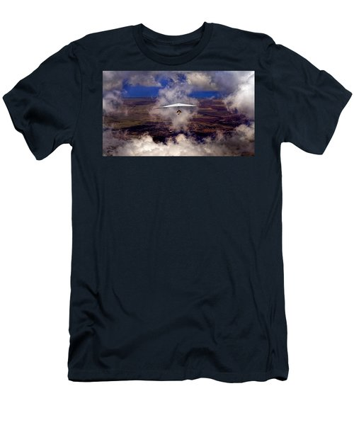 Soaring Through The Clouds Men's T-Shirt (Athletic Fit)