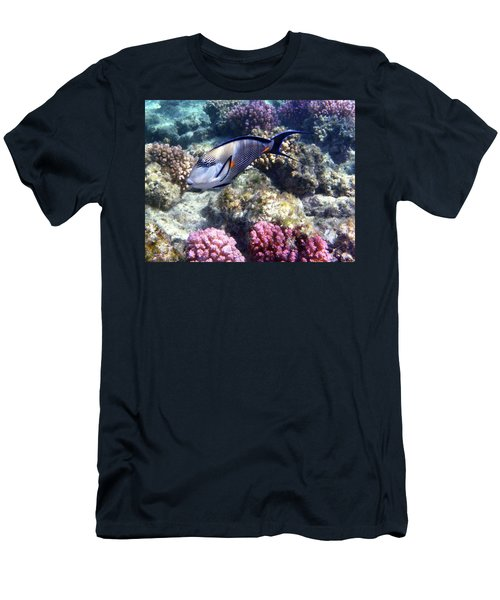 Sohal Surgeonfish 5 Men's T-Shirt (Athletic Fit)