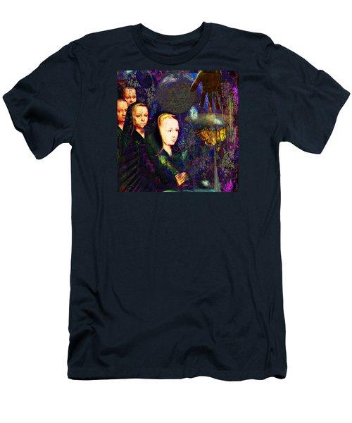 sOLAR pRAYER Men's T-Shirt (Slim Fit) by Joseph Mosley