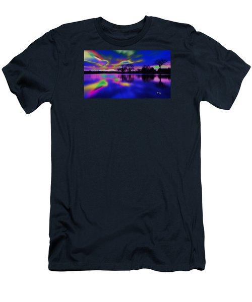 Solar Sunset Men's T-Shirt (Athletic Fit)
