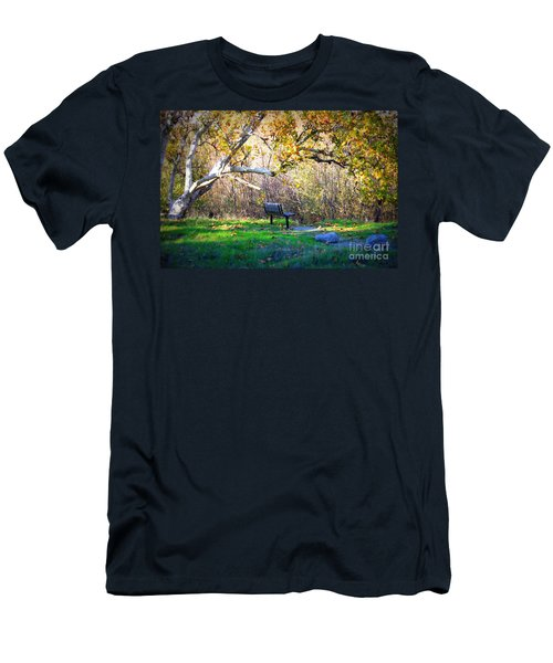 Solitude Under The Sycamore Men's T-Shirt (Athletic Fit)