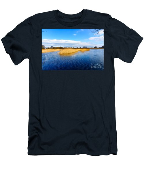 Somerset Levels Men's T-Shirt (Slim Fit) by Colin Rayner