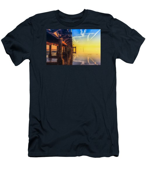 Somewhere Else Men's T-Shirt (Slim Fit) by Thierry Bouriat