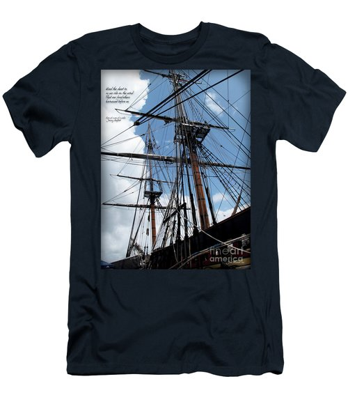 Son Of A Son Of A Sailor Quote - Tribute To The Bounty Men's T-Shirt (Athletic Fit)