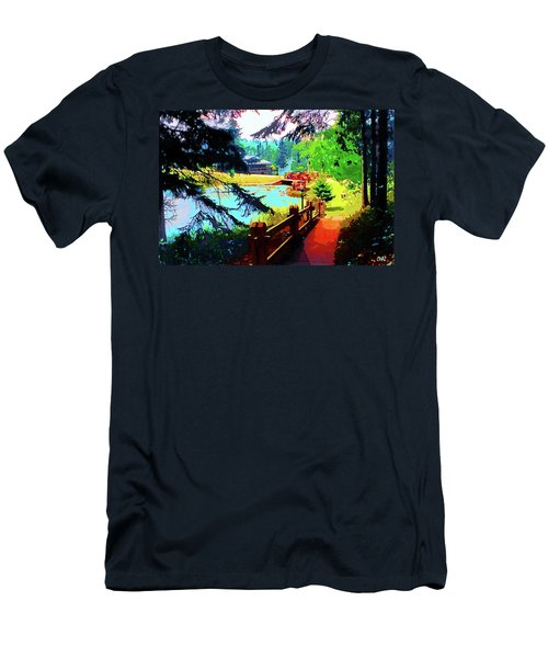 Song Of The Morning Camp Men's T-Shirt (Athletic Fit)