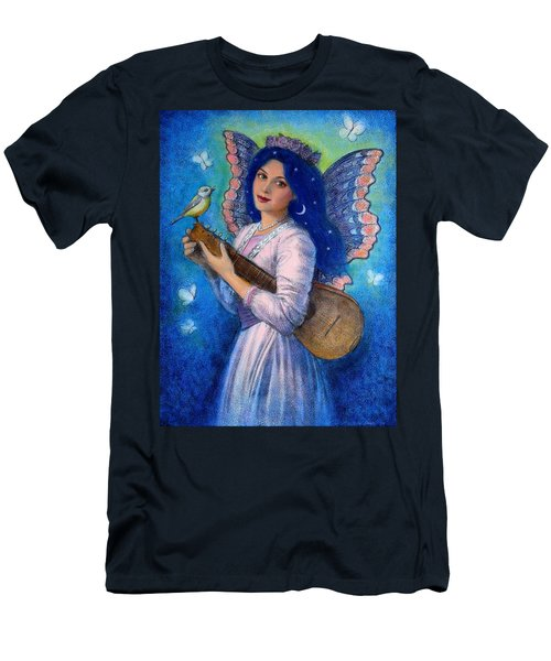 Songbird For A Blue Muse Men's T-Shirt (Athletic Fit)