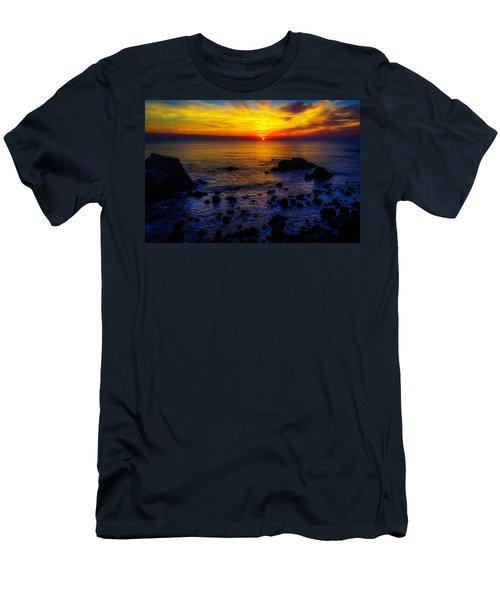 Sonoma Coast Sunset Men's T-Shirt (Athletic Fit)