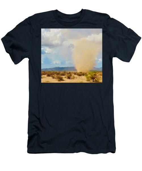 Sonoran Desert Dust Devil Men's T-Shirt (Athletic Fit)