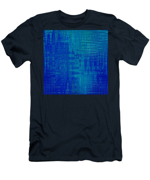 Sounds Of Blue Men's T-Shirt (Slim Fit) by Stephanie Grant