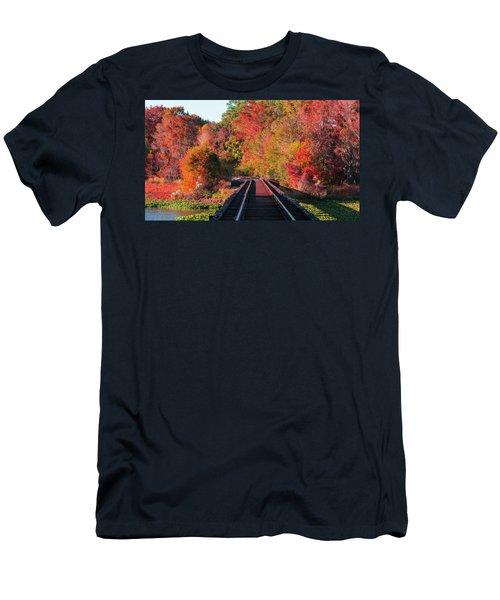 Southern Fall Men's T-Shirt (Slim Fit) by RC Pics