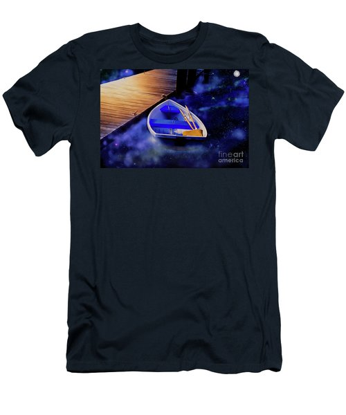Space Boat Men's T-Shirt (Athletic Fit)