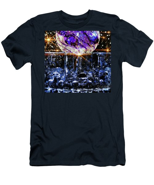 Sparkling Glass Men's T-Shirt (Athletic Fit)