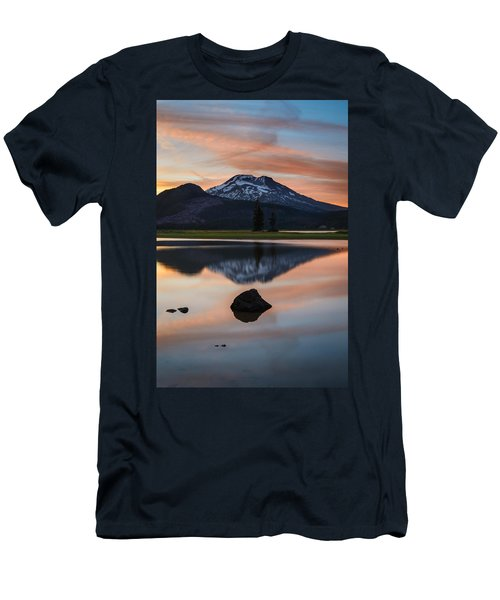 Sparks Lake At Sunset Men's T-Shirt (Athletic Fit)