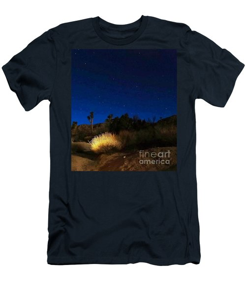 Special Glow Men's T-Shirt (Slim Fit) by Angela J Wright