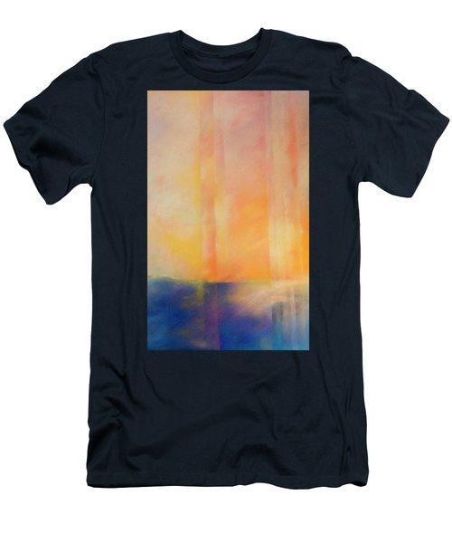 Spectral Sunset Men's T-Shirt (Athletic Fit)