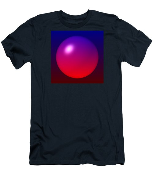 Men's T-Shirt (Slim Fit) featuring the digital art Sphere by Lyle Hatch
