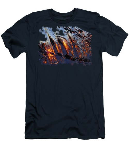 Spiking Men's T-Shirt (Slim Fit) by Sami Tiainen