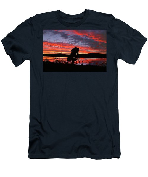 Spinning The Wheels Of Fortune Men's T-Shirt (Athletic Fit)