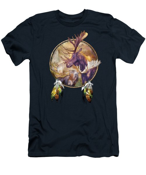 Spirit Of The Moose Men's T-Shirt (Athletic Fit)