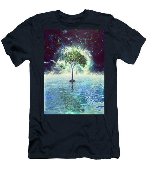 Spirit Tree Men's T-Shirt (Athletic Fit)