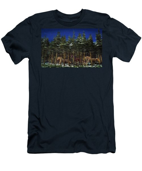 Spirits Of The Forest Men's T-Shirt (Athletic Fit)