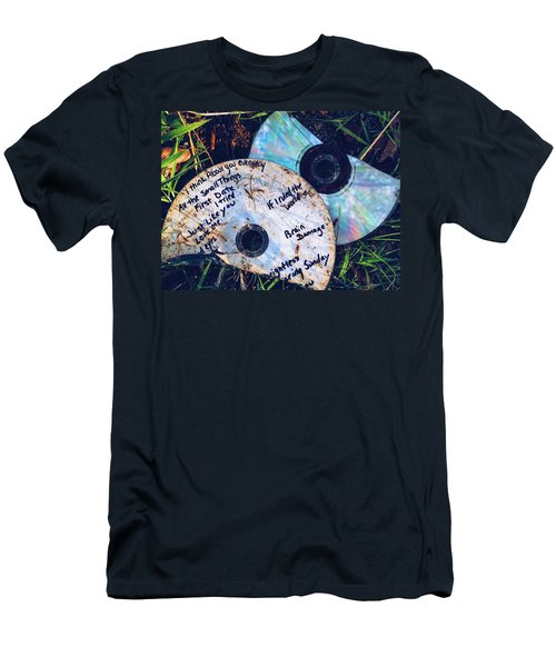 Split Men's T-Shirt (Slim Fit) by Colleen Williams