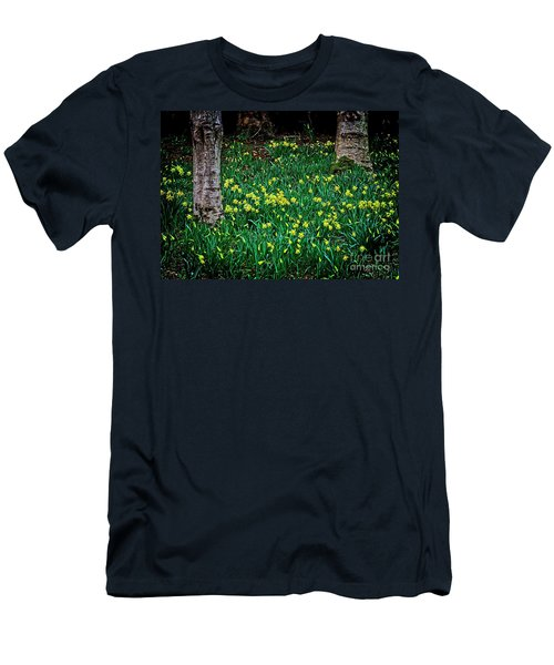 Spring Daffoldils Men's T-Shirt (Athletic Fit)
