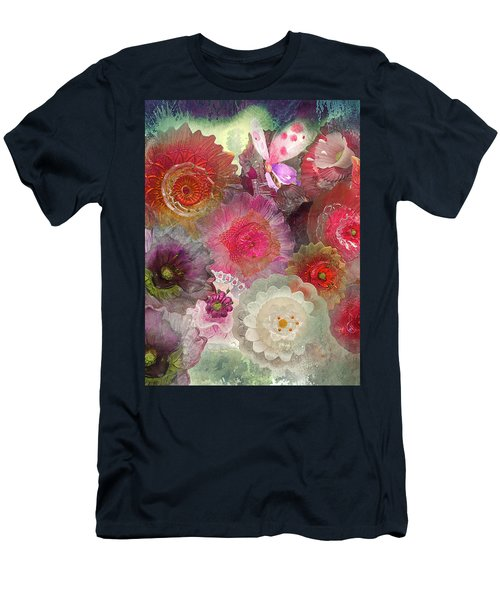 Men's T-Shirt (Slim Fit) featuring the photograph Spring Glass by Jeff Burgess