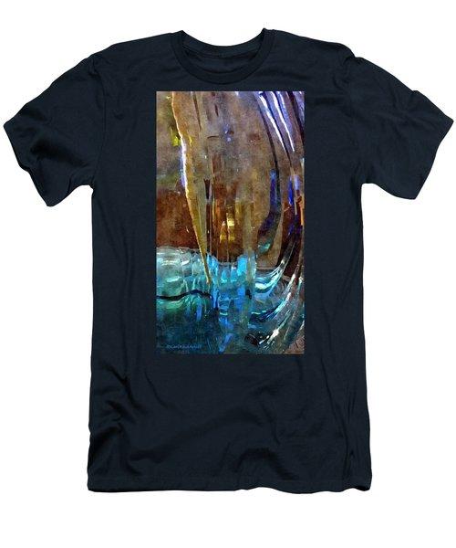 Spring Globe Men's T-Shirt (Slim Fit) by Karl Reid