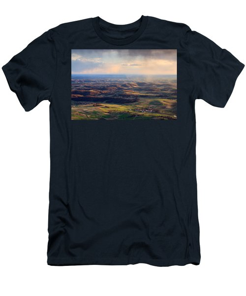 Men's T-Shirt (Slim Fit) featuring the photograph Spring Magic by Davorin Mance