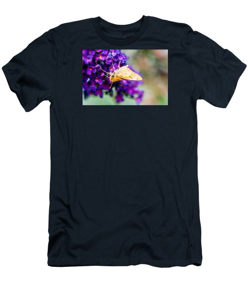 Spring Moth Men's T-Shirt (Athletic Fit)