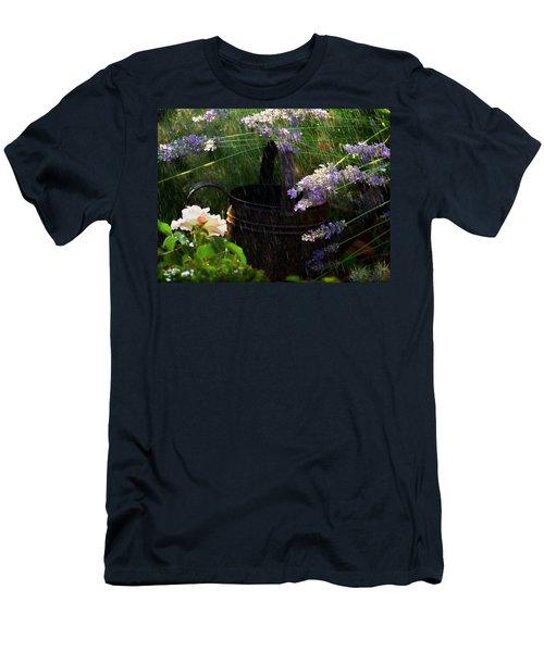 Spring Rain Men's T-Shirt (Athletic Fit)