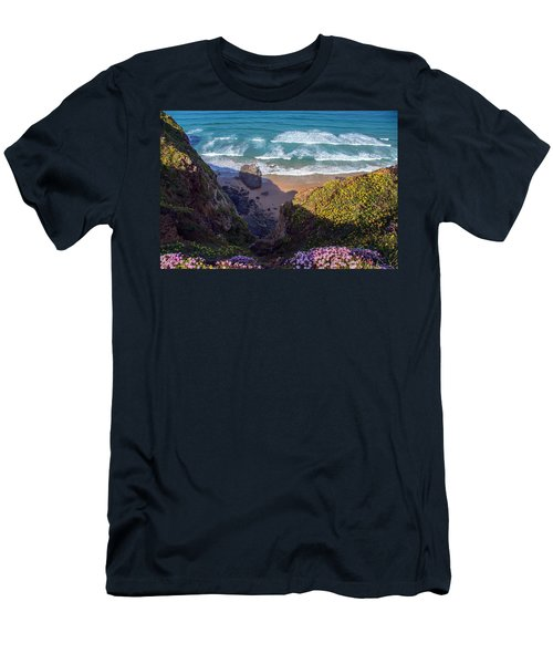 Springtime In Cornwall Men's T-Shirt (Athletic Fit)
