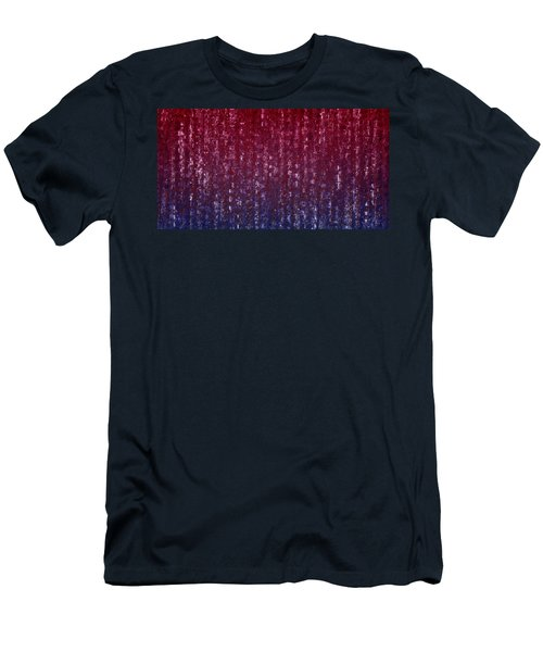 Square Code Men's T-Shirt (Athletic Fit)