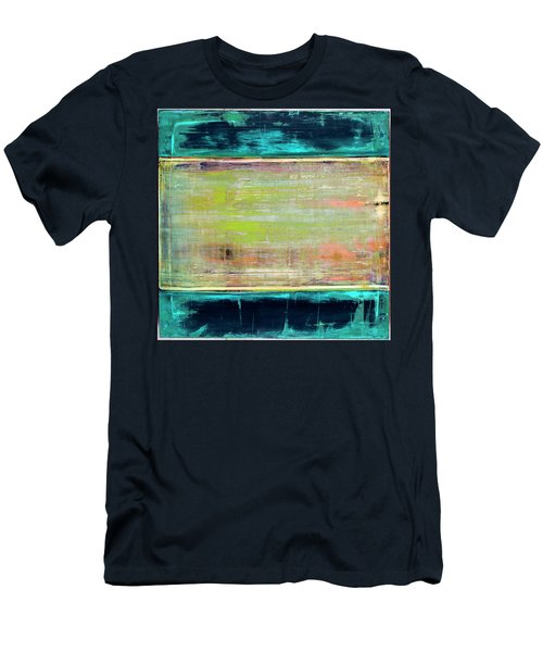 Art Print Square3 Men's T-Shirt (Athletic Fit)