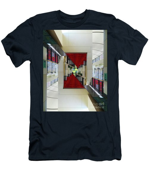Squares Men's T-Shirt (Athletic Fit)
