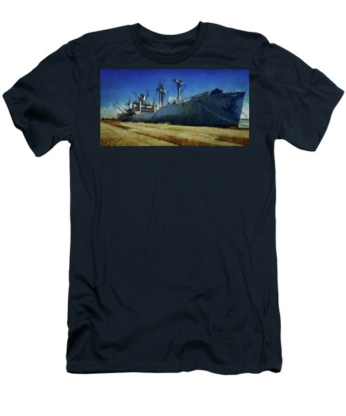 Ss Lane Victory Men's T-Shirt (Slim Fit) by Joseph Hollingsworth