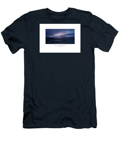 Men's T-Shirt (Athletic Fit) featuring the digital art St Ives - Fading Light by Julian Perry