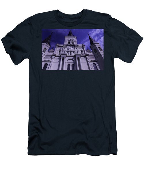 St. Louis Cathedral New Orleans Men's T-Shirt (Athletic Fit)