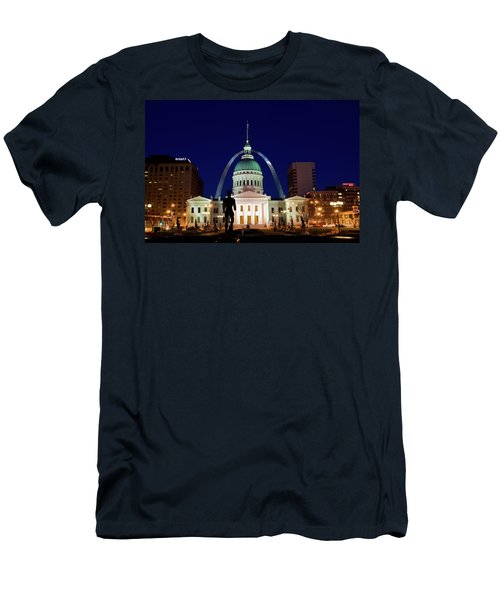 Men's T-Shirt (Slim Fit) featuring the photograph St. Louis by Steve Stuller
