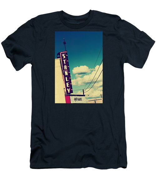 Men's T-Shirt (Slim Fit) featuring the photograph Stanley by Trish Mistric