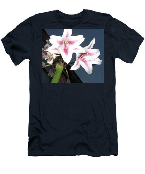 Star Flower Men's T-Shirt (Slim Fit)