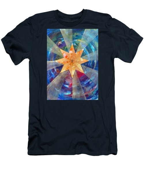 Star Mandala 1  Men's T-Shirt (Athletic Fit)