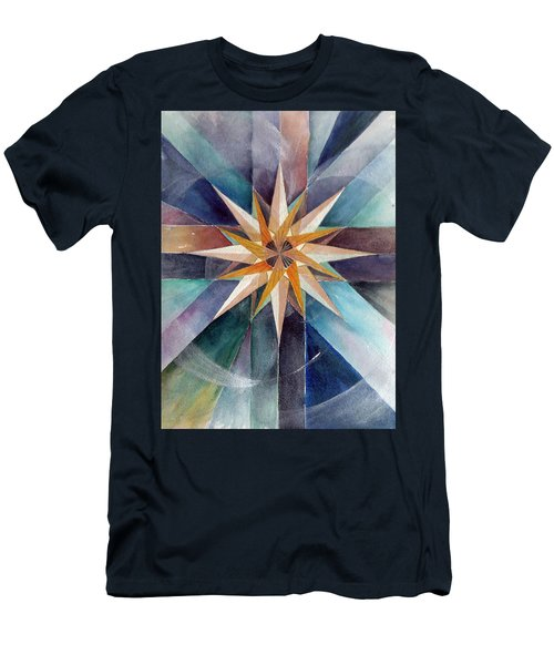 Star Mandala 2  Men's T-Shirt (Athletic Fit)
