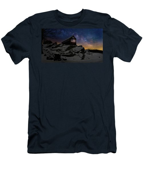 Men's T-Shirt (Slim Fit) featuring the photograph Star Spangled Banner by Bill Wakeley